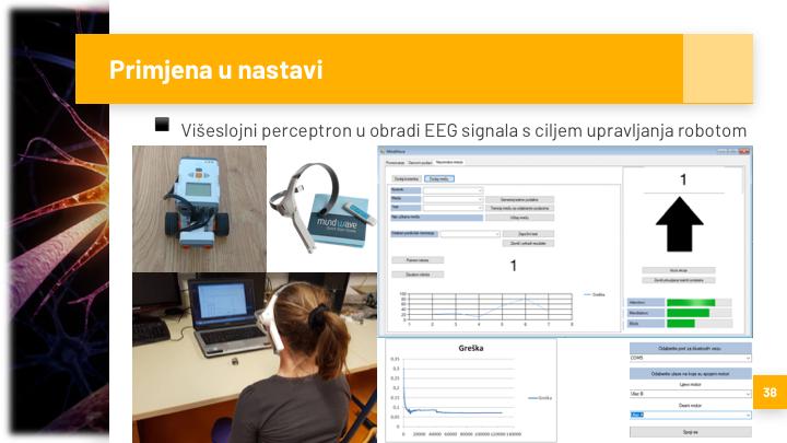 Primjena u nastavi: NN i EEG